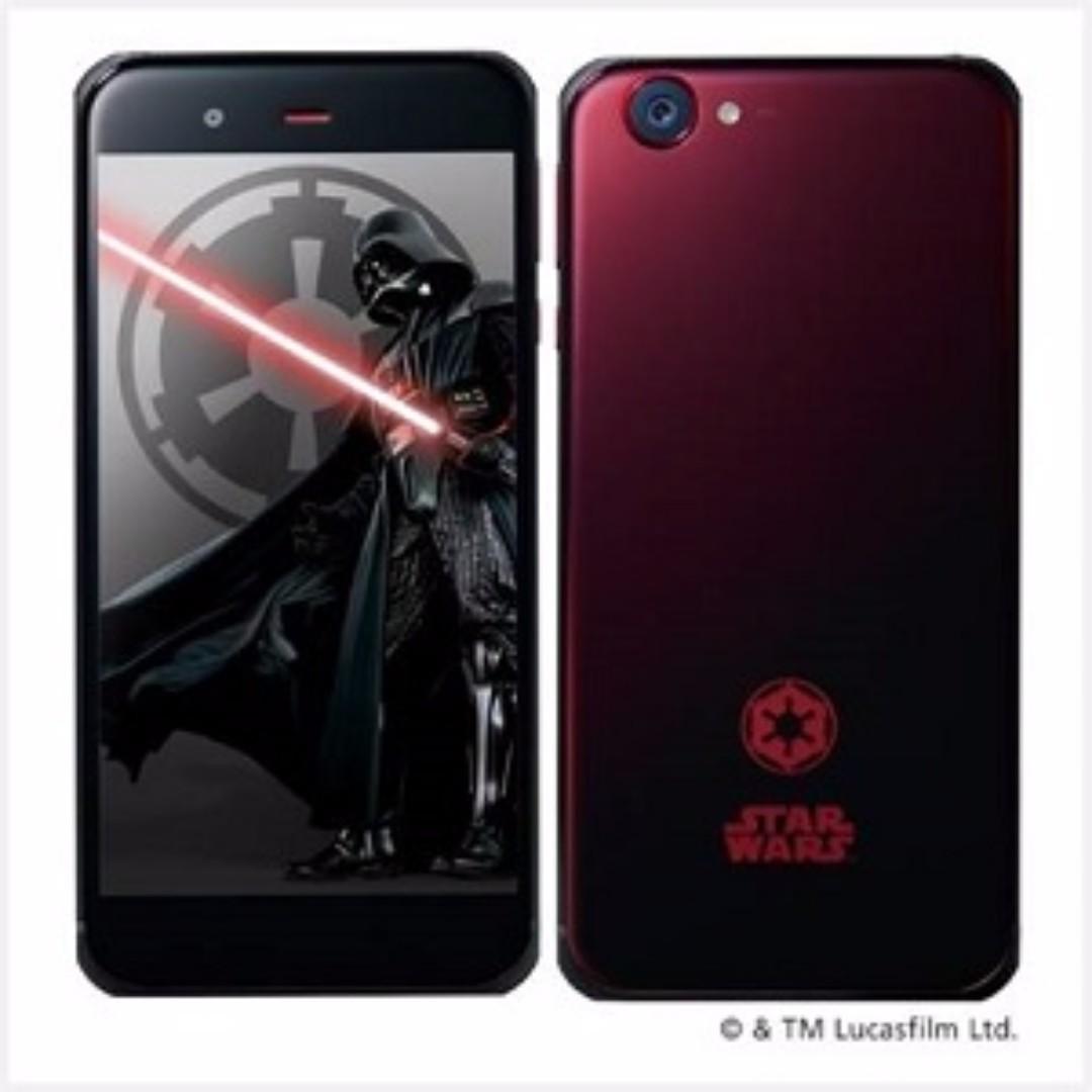 STAR WARS SHARP AQUOS Softbank smartphone mobile (Oppo, Vivo, Xiaomi, Samsung, Sony, Google, iPhone, Huawei alternative)