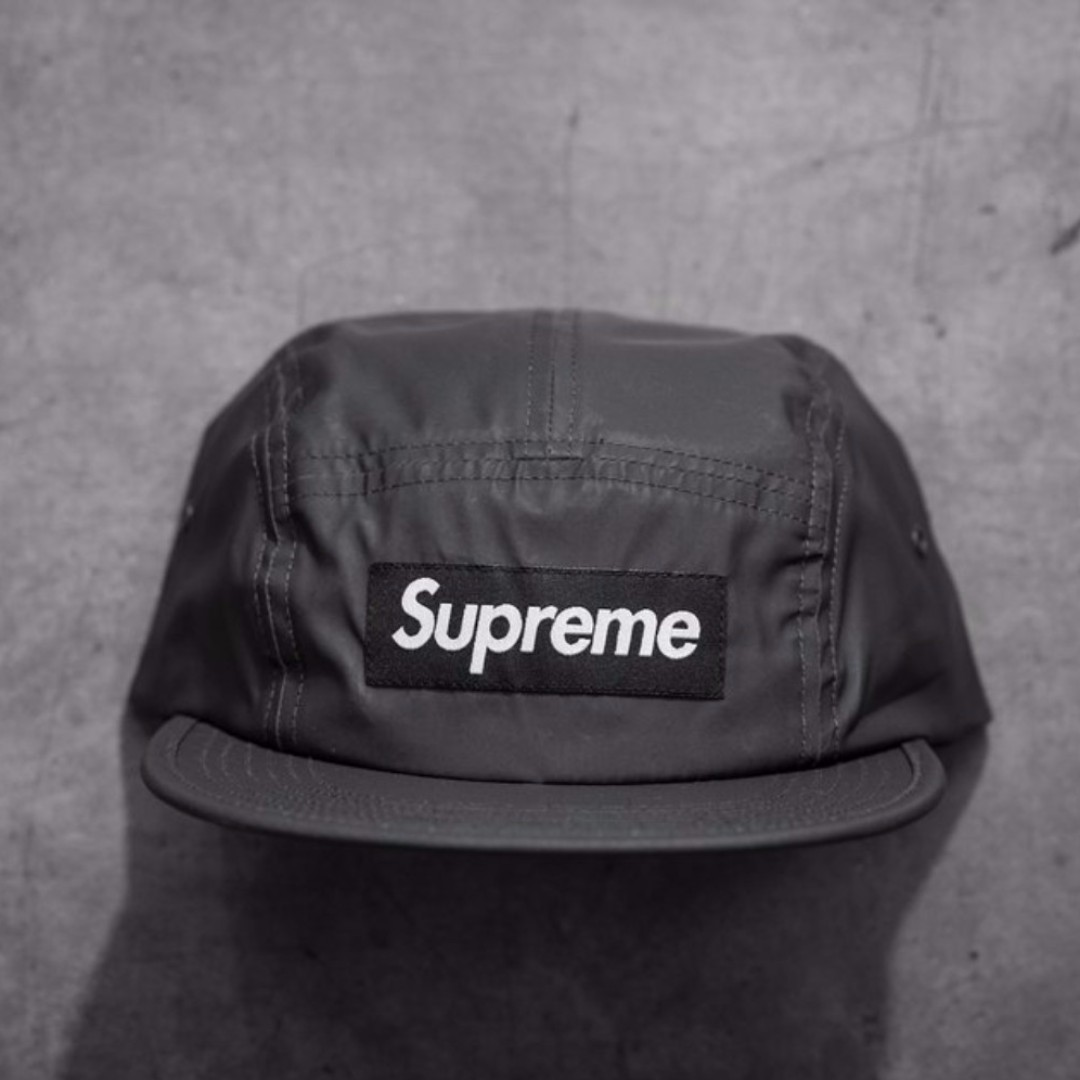 Supreme reflective camp cap 69c52112523