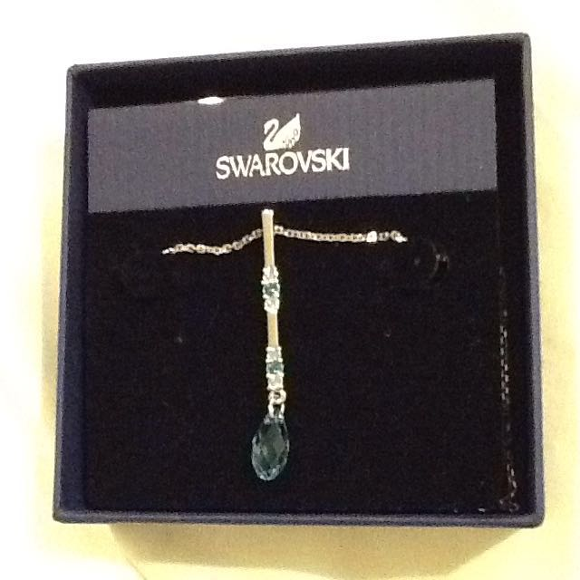Swarovski Blue Crystal Pendant