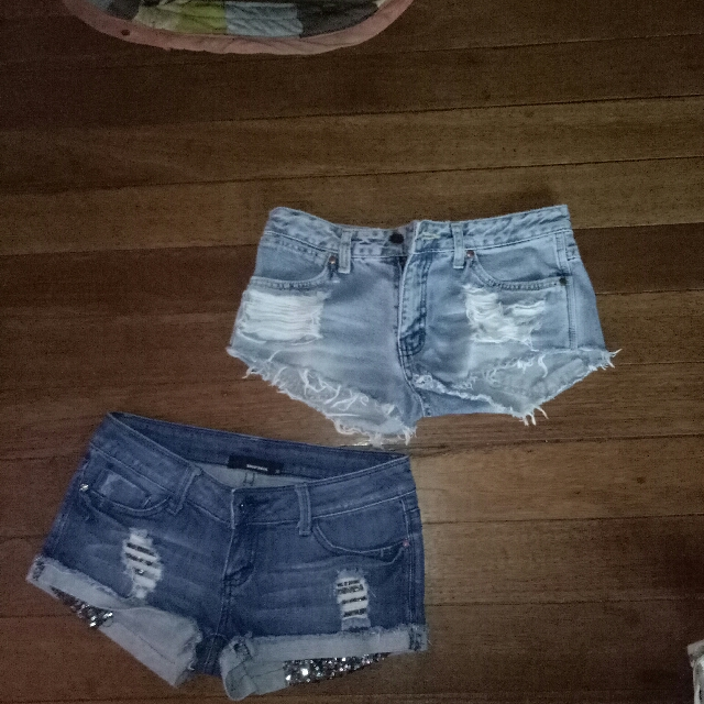 TALLY WELT SHORT SHORTS