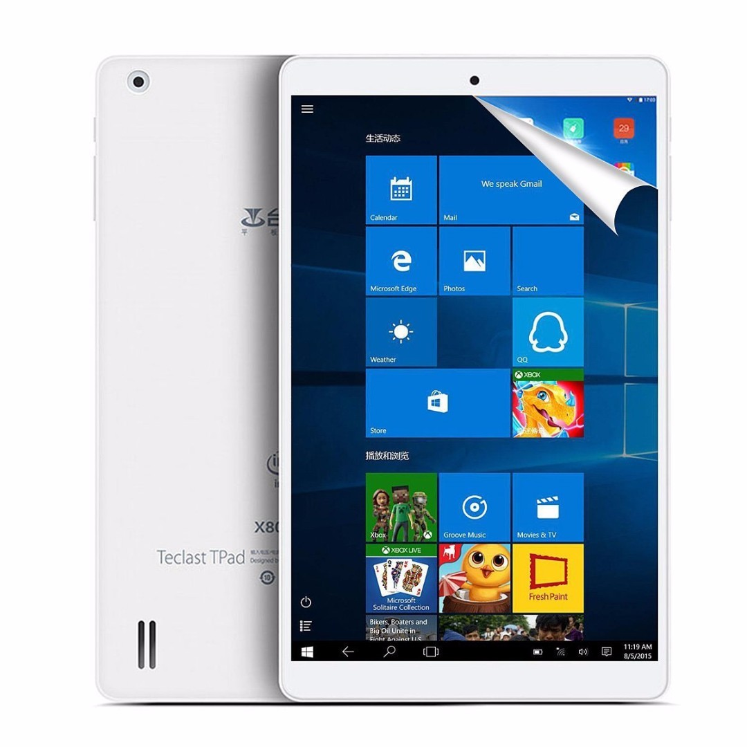 Teclast X80 Plus 8 Ips Screen Windows 10 Android 51 Cherry Trail Samsung Portable Eksternal Ssd T3 250gb Usb 31 Free Kalender Intel Z8300 64 Bit Cpu 2gb Ram 32gb Rom Tablet Pc With Mini Hdmi Electronics