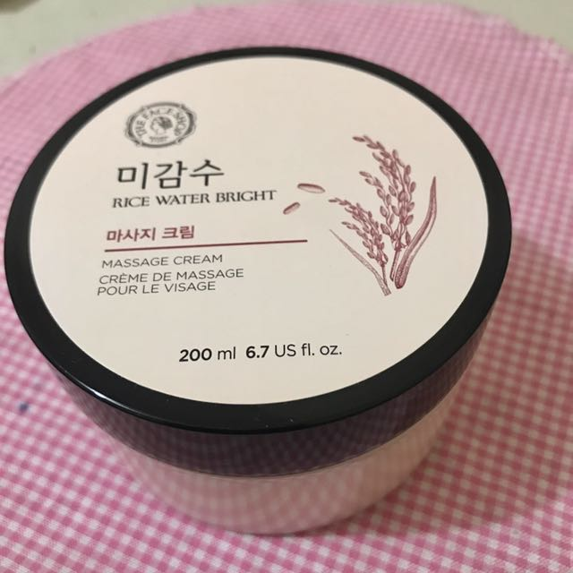 The bodyshop rice water bright