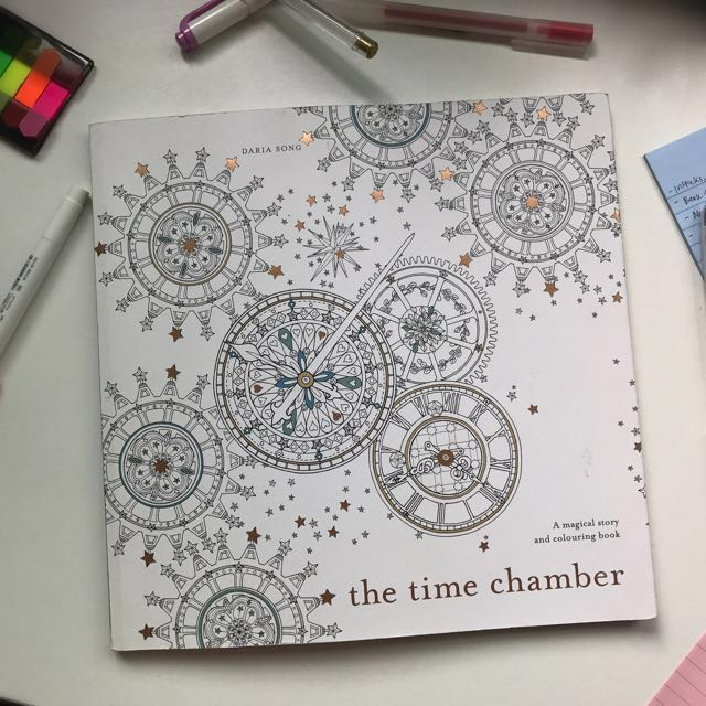 The Time Chamber A Magical Story And Colouring Book Books
