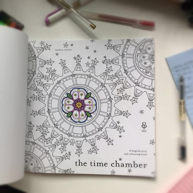 The Time Chamber A Magical Story And Colouring Book Books Stationery Childrens On Carousell