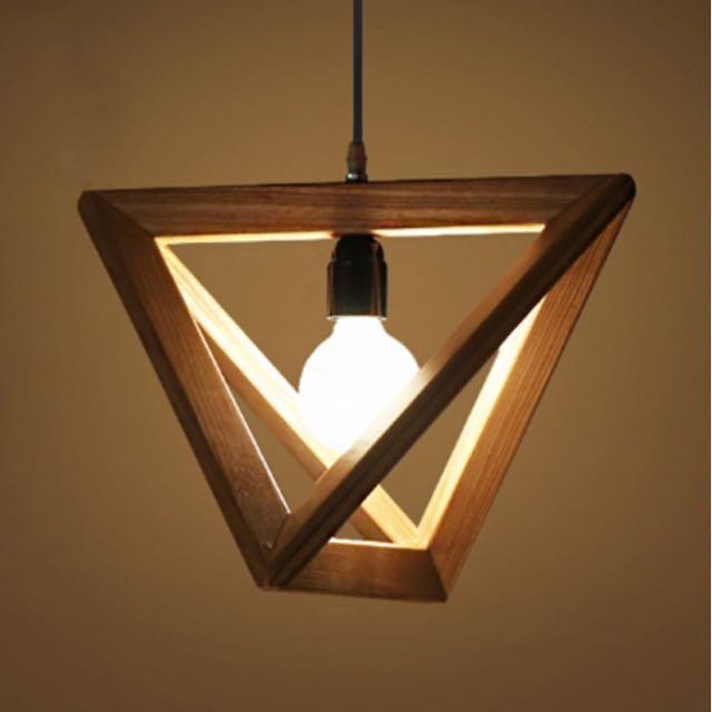 Triangle Shaped Pendant Light