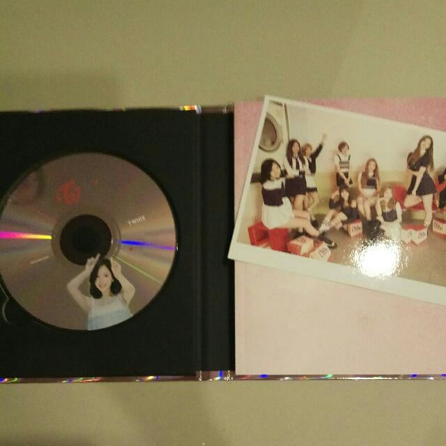 Twice Mina Signal Cd Plate W Photobook