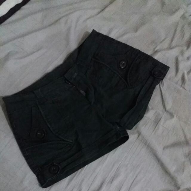 Used Black Shorts