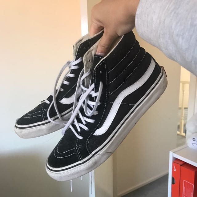 old skool hi vans