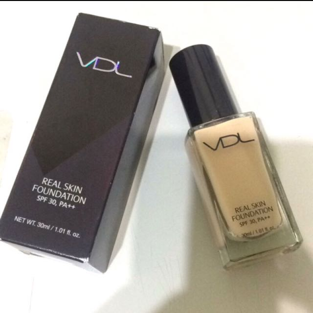 VDL real skin粉底液