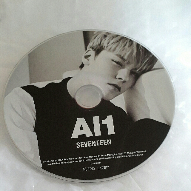 VERNON CD PLATE
