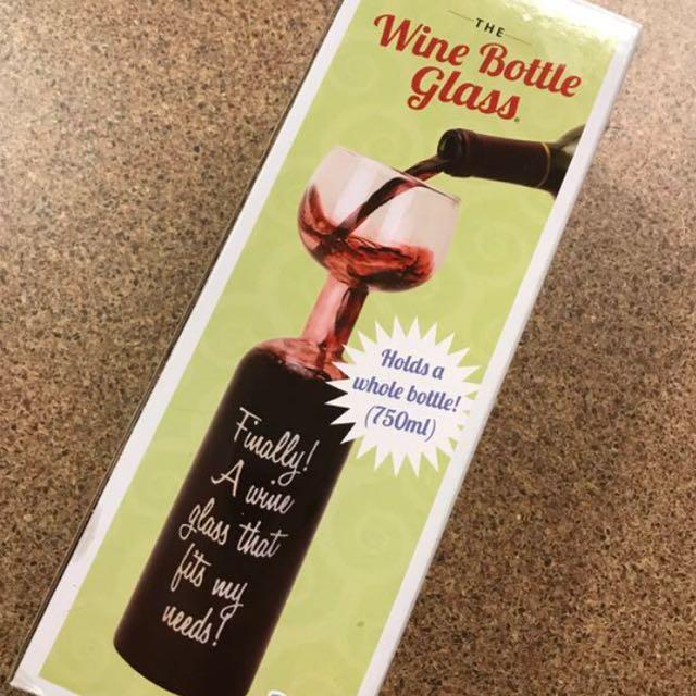 Wine Bottle Glass (750ML)