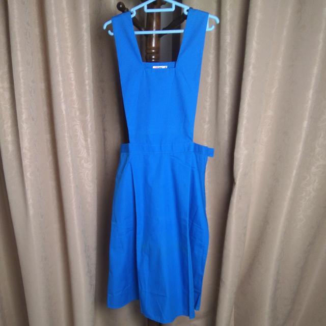 53eed6ca9028 XL Size Malaysia Secondary Girl School Uniform Pinafore, Women's ...