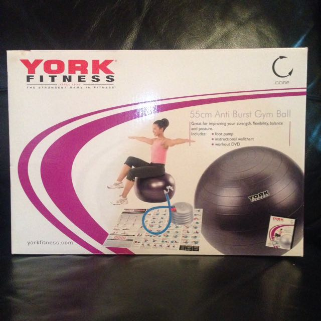 York Swiss Ball 55cm