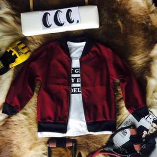 BOMBER JACKET FOR KIDS (BOYS)