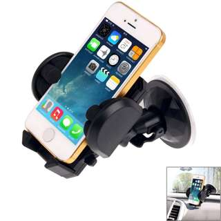 Universal 360 Degree Rotation Suction Cup Car Handphone Mobile Phone Holder