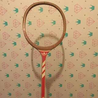 Adidas Wooden Vintage Tennis Racket