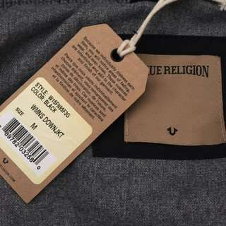 Brand new True Religion down coat