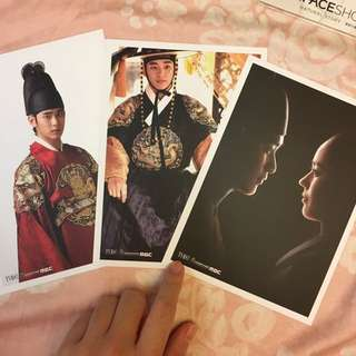 金秀賢 韓佳人 擁抱太陽的月亮 相片卡