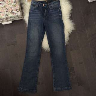 The casting straight leg jeans from aritzia