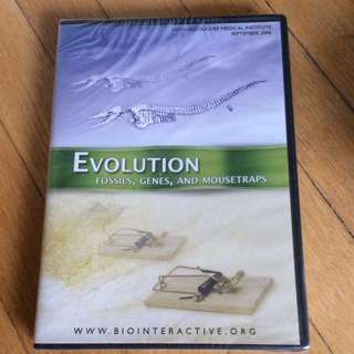 Science DVD: Evolution: fossils, genes and mousetraps