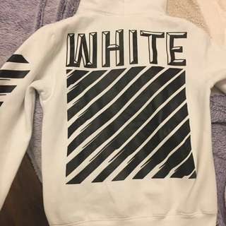 Off White Hoodie Size Small