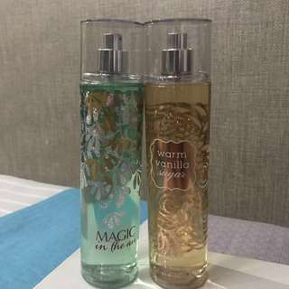 Bath & Body Works (body mist)