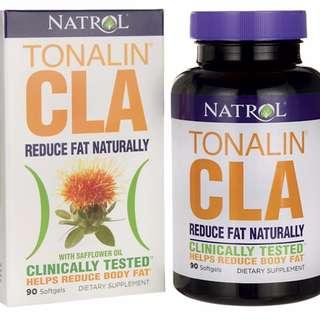NA162 Natrol Tonalin CLA共軛亞麻油酸 1200mg 90Caps 減肥瘦身