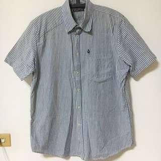 Volcom 直條紋襯衫