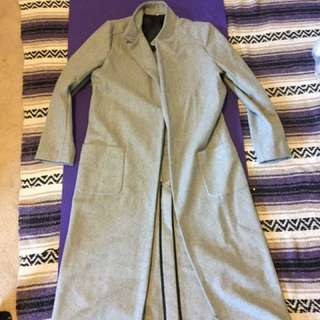 Long grey jacket