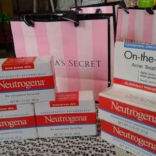 Neutrogena Soap And Crean