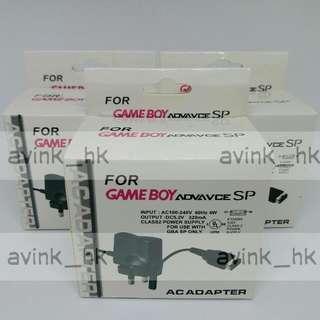 (大量 全新) 任天堂 GBASP 火牛 Nintendo Gameboy Advance SP充電器 主機充電 叉機 100-240V 香港插頭 全球通用 叉機 nintendo gbasp