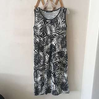 Maple midi dress