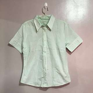 Tommy Hilfiger Green Blouse