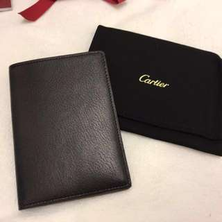 Cartier  CRM GOAL BLACK PASSPORT HOLDER