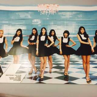 GIRLS GENERATION NEW POSTER