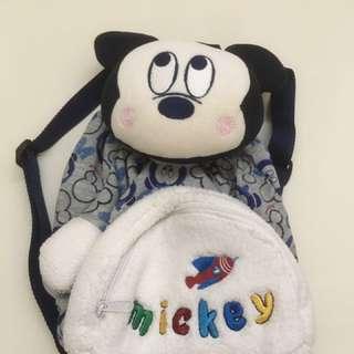 麗嬰房米奇背包