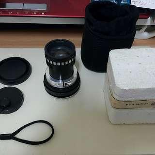 🚚 西德IOR Bucuresti SUPERCIN 2 F50mm/1.4 電影鏡頭 (SONY nex E接環)