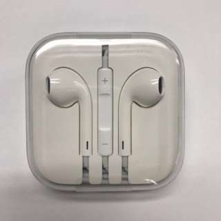 全新原廠iPhone 6 earphone 3.5mm