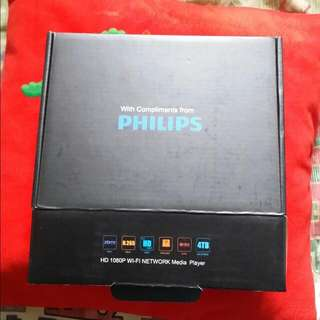 Philips HD 1080P Wifi Network Media Player