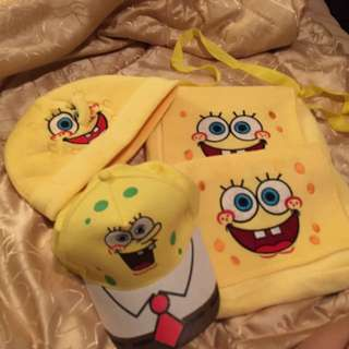 Spongebob bags and hats