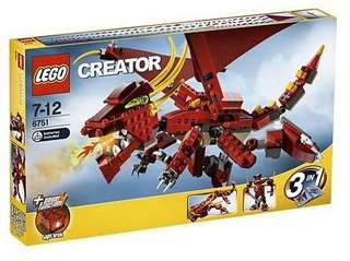 樂高 LEGO 6751 CREATOR 創意 3 in 1 飛龍