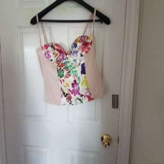 miss sixty bustier brand new with tags