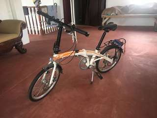 Peerless Sonic Folding Bike