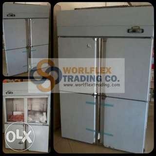 upright freezer chiller