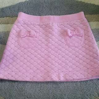 Mothercare Pink Skirt With Pockets