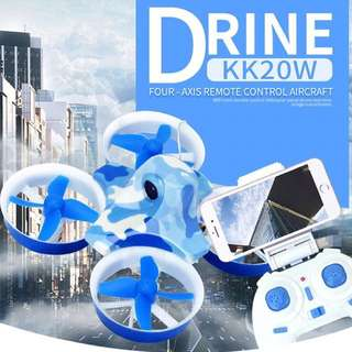 New Mini KK2DW 2.4G 4CH 6-Axis RC Quadcopter Drone With With WIFI Camera FPV