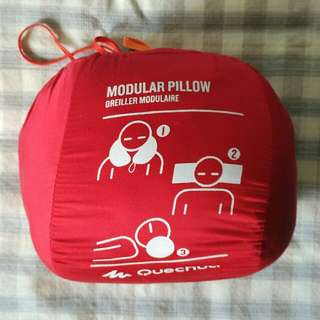 Decathlon Quechua pillow for travel, camping