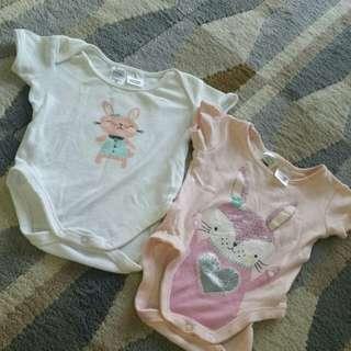 Baby Rompers Set 2 Pieces