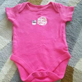 Mothercare Pink Rompers