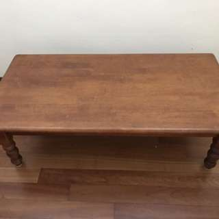 "Japenesse Wooden coffee table (low height) 47""x24""x15"" height"